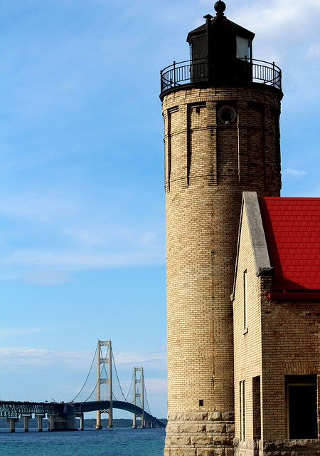 Great Ports - Old Mackinac lighthouse